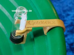 Gläschenhalter für Goldblitz Ultra Pfannen